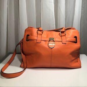 Calvin Klein Purse Orange Medium Sized